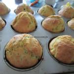 Super schnelle fluffige Zucchini - Muffins