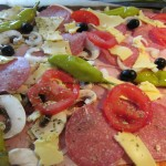 schnelle leckere Pizza