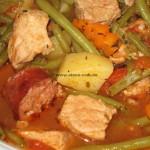 Jugo-Grüne-Bohnensuppe