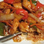 Slavas chicken sweet and sour