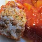 gefüllte Jugo-Paprika aus dem Ofen