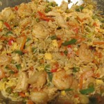 Chicken-Prawn-Fried Rice