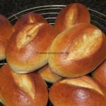leckere Frühstücks-Sonntags-Brötchen