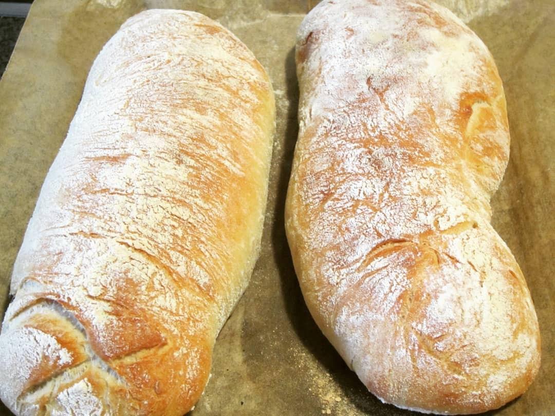 Hausgemachtes Italienisches Brot Kochen Backen Leicht Gemacht