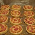 schnelle softe Pizzaschnecken
