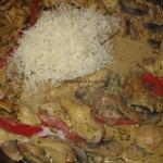 schnelle bunte Hähnchenpfanne