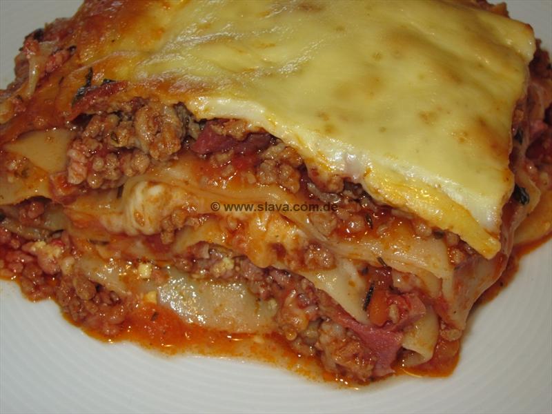 Lasagne alla Bolognese | kochen & backen leicht gemacht mit Schritt ...