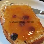 fluffiger Rosinen-Brot-Stuten-Platz