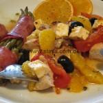 Slavas mediterranes Orangen-Huehnchen