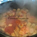 Slavas schneller hausgemachter Sauerkraut-Topf