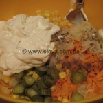 schneller Sauerkraut-Salat