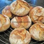 Ruckzuck-Kartoffel-Brötchen mit Vollkornmehl