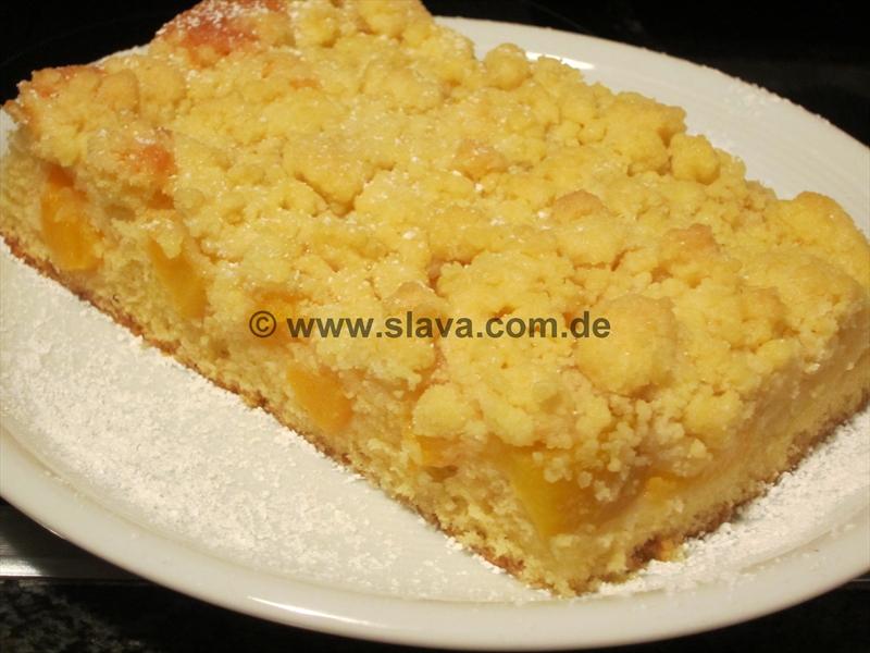 Saftiger Pfirsich Streuselkuchen Kochen Backen Leicht Gemacht