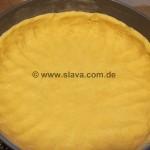 saftiger Apfel-Käse-Puddingkuchen