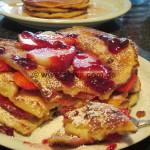 Quarkpfannkuchen mit Zimt und Zucker