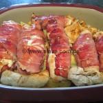 Gefüllte Hähnchenrouladen an geschmorten Apfel-Kartöffelchen aus dem Zaubermeister auch WW geeignet
