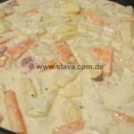 Ruck-Zuck Kohlräbchen-Kartoffel-Pfanne auch WW geeignet
