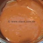 Schnelle Schoko-Vanille-Küchlein mit Erdbeeren