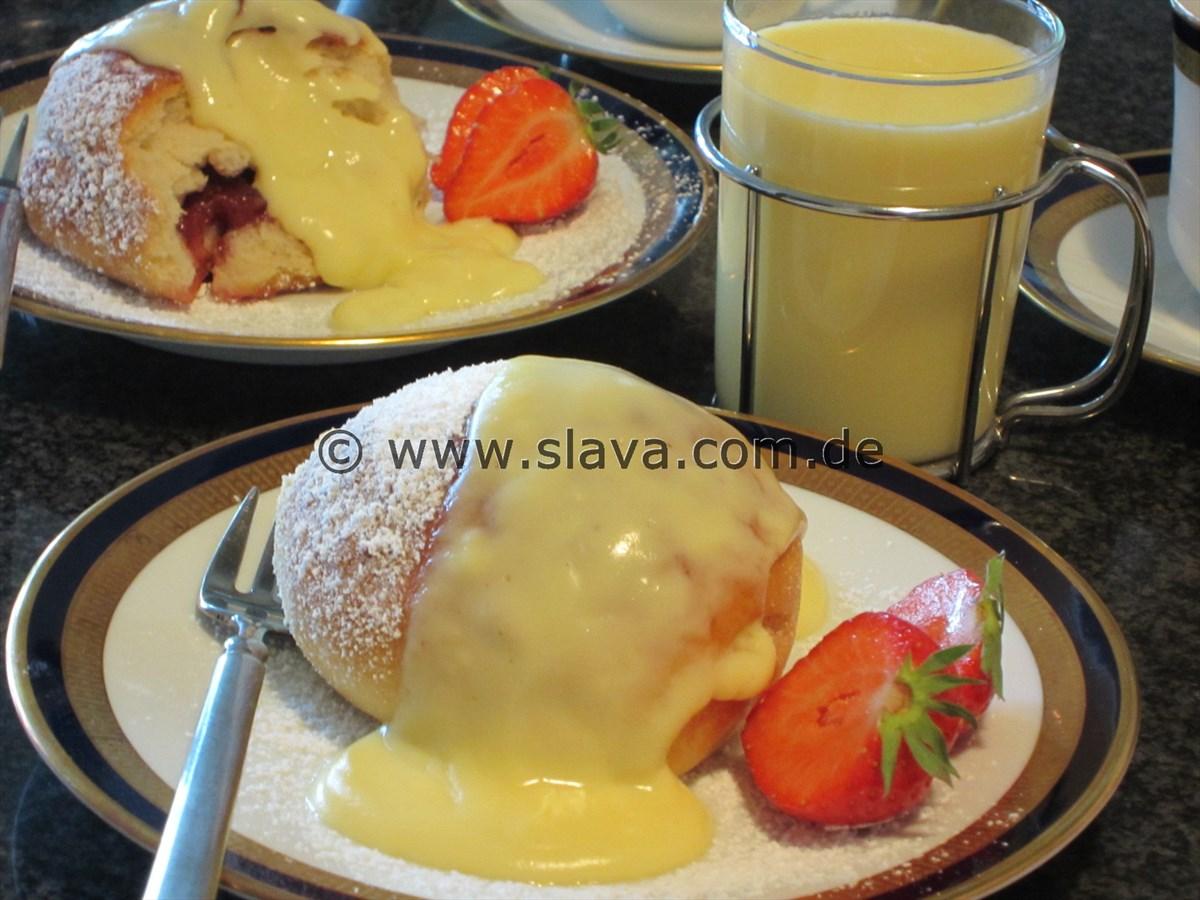 Slavas Vanille-Sauce