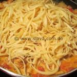 scharfe Chicken Pasta