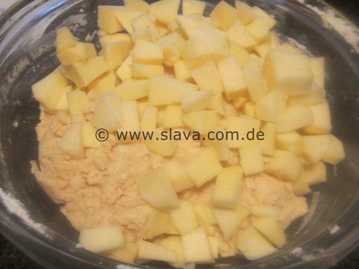 Ruckzuck Apfel Vannille Kuchlein Mit Zimt Und Zucker Kochen
