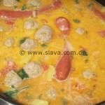 Serbische Fleischklößchen-Suppe