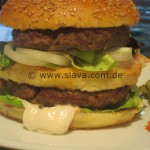 Selbstgemachte Burger ala Big Mac – Whopper