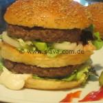 Selbstgemachte Burger ala Big Mac - Whopper