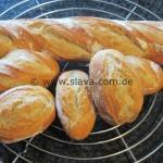 Knusper Krustis - Baguette und Brot mit easy-über-Nacht-Vorteig