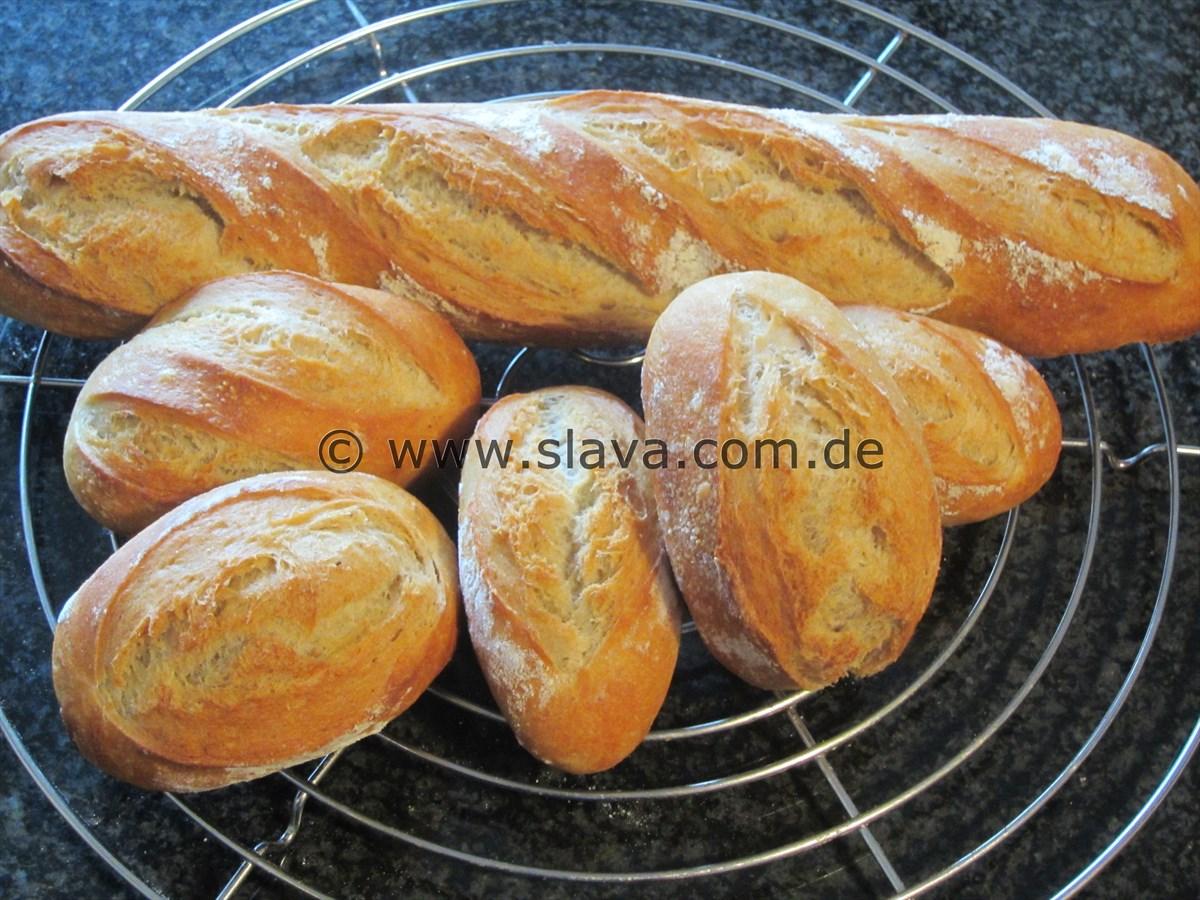baguette rezept thermomix