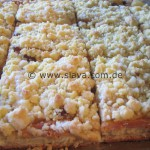Slava's Blitz – Apfel – Streuselkuchen