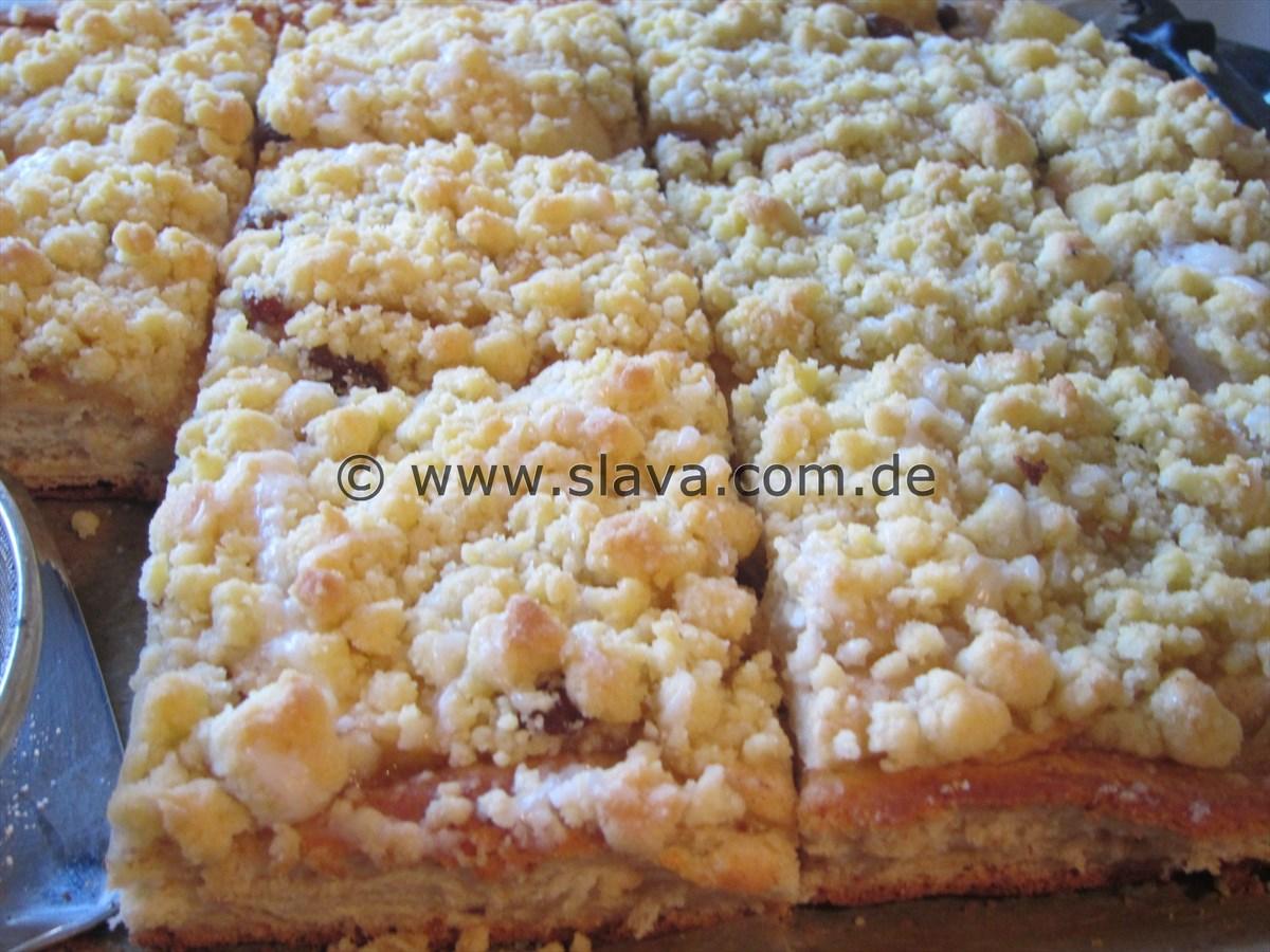 Slavas Blitz Apfel Streuselkuchen Kochen Backen Leicht