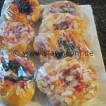Süße weiche Marmeladen-Knötchen