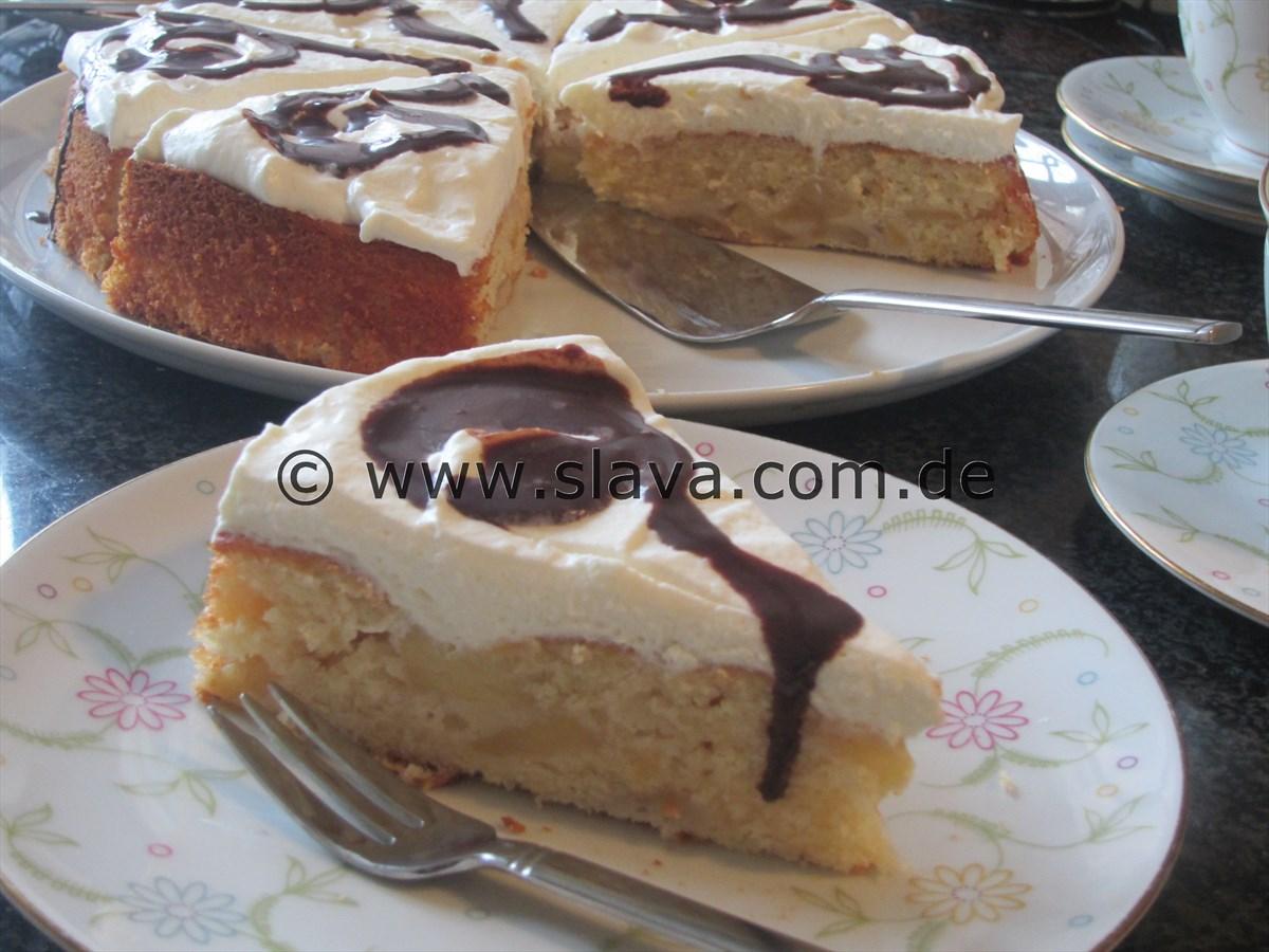 fanta bratapfel torte kuchen kochen backen leicht gemacht mit schritt f r schritt. Black Bedroom Furniture Sets. Home Design Ideas