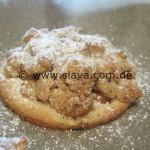 Krümelig - süße Bratapfel-Mürbchen mit Nußstreusel