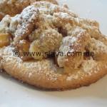 Krümelig – süße Bratapfel-Mürbchen mit Nußstreusel