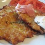 Kartoffelpuffer – Reibekuchen Grundrezept nach Oma Serka