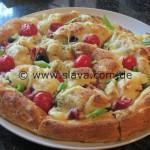Mediterrane XXL Grill-Pizza-Schnecke mal anders