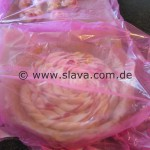 Fruchtige XXL Erdbeer-Marzipan-Schnecke