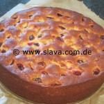 Feiner  saftiger Pflaumen - Zwetschgen - Joghurtkuchen 3