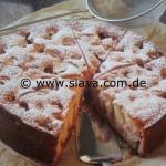 Feiner  saftiger Pflaumen - Zwetschgen - Joghurtkuchen 5