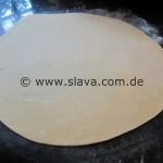 Strozzapreti - selbstgemachte - gedrehte Nudeln