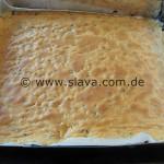 Saftige Ameisen-Kirsch-Pudding-Schnitte
