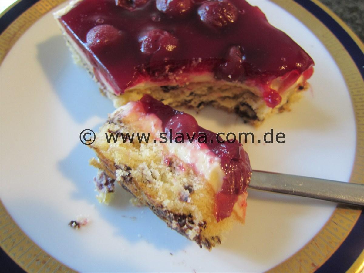 schneller kuchen mit puddingpulver