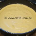 Zitronentorte mit fruchtiger Schmandhaube