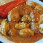 Hähnchenkeulen in Paprikasoße oder Paprika Huhn
