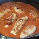 Involtini di Pollo mit Wildreis
