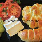 Schnelle Herzhafte – Pizza-Stangen / Schnecken zum snacken