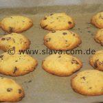 Schnelle Schoko-Cookies-Kekse