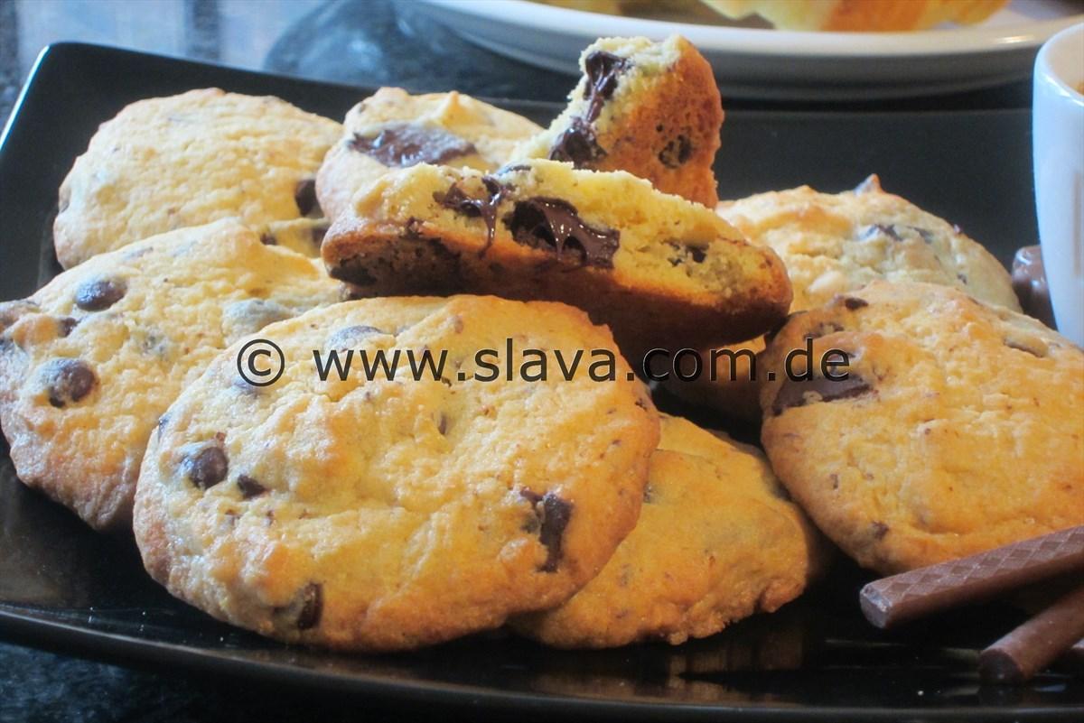 Schnelle Schoko Cookies Kekse Kochen Backen Leicht Gemacht Mit Schritt Fur Schritt Bildern Von Mit Slava